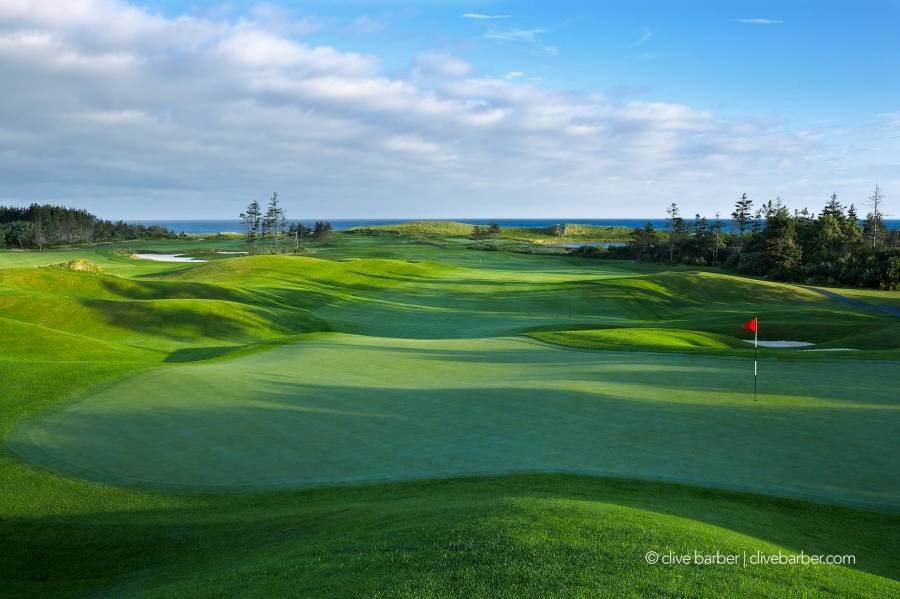 Behind 9th hole, The Links at Crowbush Cove - PEI Canada