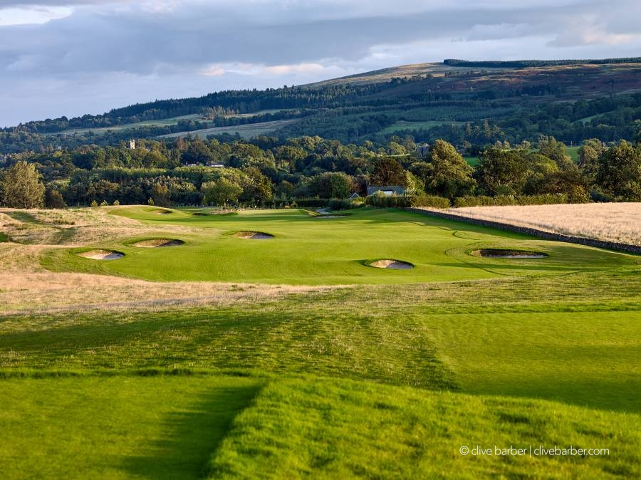 11th hole, The Carrick on Loch Lomond - Dumbartonshire Scotland