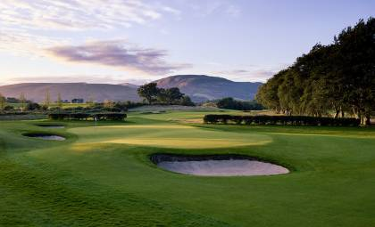 6th green, The Carrick on Loch Lomond - Dumbartonshire Scotland