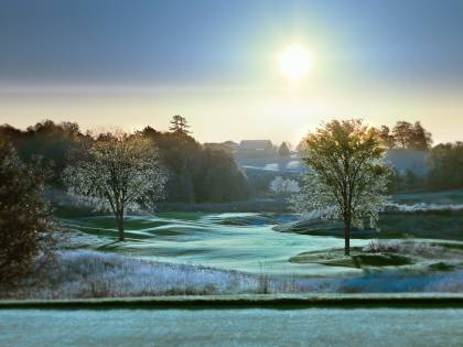 10th hole at sunrise, Goodwood Golf Club - Uxbridge ON Canada