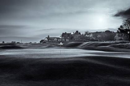Behind 1st hole,  Royal Dornoch Golf Club - Dornoch Scotland
