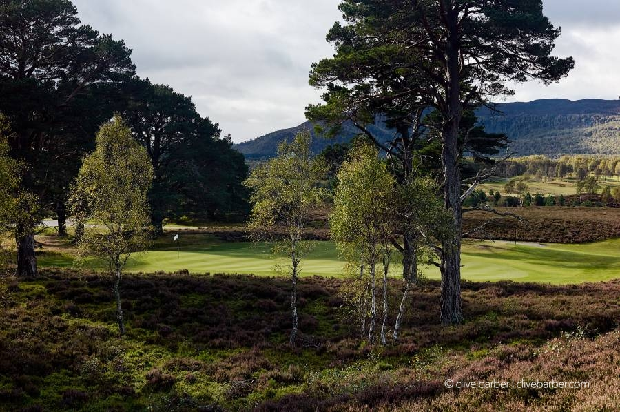 10th (Lairig An Laoigh) hole, Spey Valley Golf Course - Aviemore Scotland