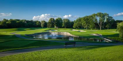 Hole No. 2, London Hunt and Country Club - London ON, Canada