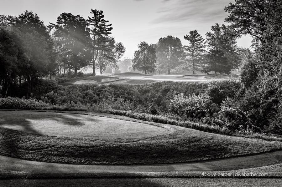 Hole No. 8 from back tees, London Hunt and Country Club - London ON, Canada