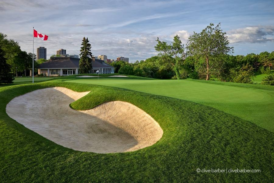 7th green and clubhouse, Islington Golf Club - Etobicoke ON, Canada