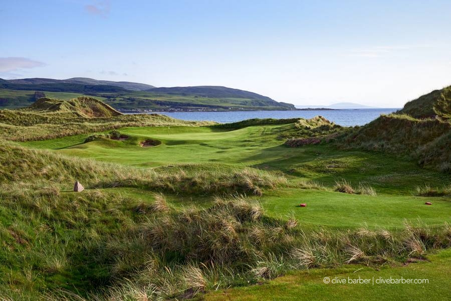 5th hole, Machrihanish Dunes - Argyll Scotland