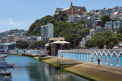 Oriental Bay - Wellington New Zealand