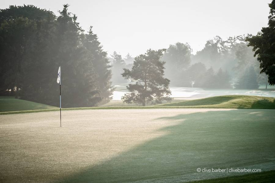 18th green, London Hunt and Country Club